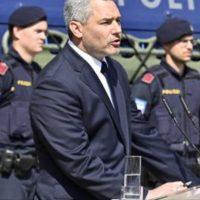 Bundesheer polizei Einsatz an der Grenze Österreich