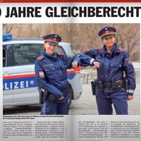 Frauen in der Polizei 30 Jahre Gleichberechtigung