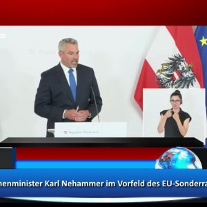 Innenminister Karl Nehammer EU Sonderrrat Afghanistan