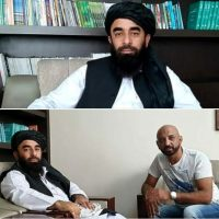 Interview Kabul Talibani mit Kronenzeitung Österreich