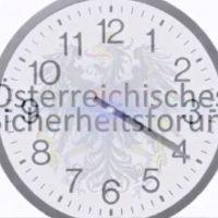 Österreichisches Sicherheitsforum TV Studio Pro Polizei