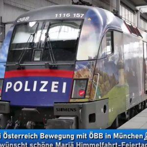 Polizeizug Österreich Strecke München Wien