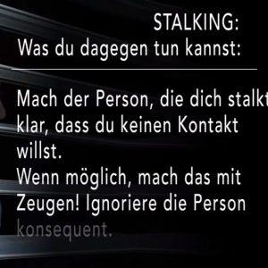 Stalking Verfolgung Österreich