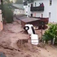 Überflutung Österreich Sommer 2021
