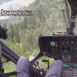 flugpolizei österreichisches sicherheitsforum