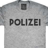pro polizei t-shirt