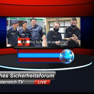 wir unterstützen unsere Polizei Bürgerbewegung Österreich